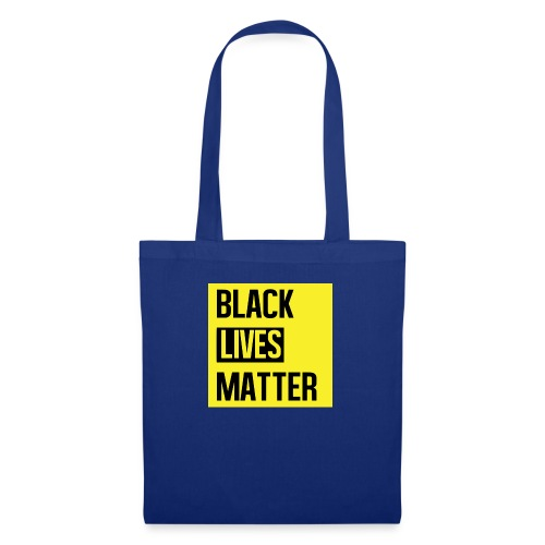 Black Lives Matter (yellow) - Tas van stof