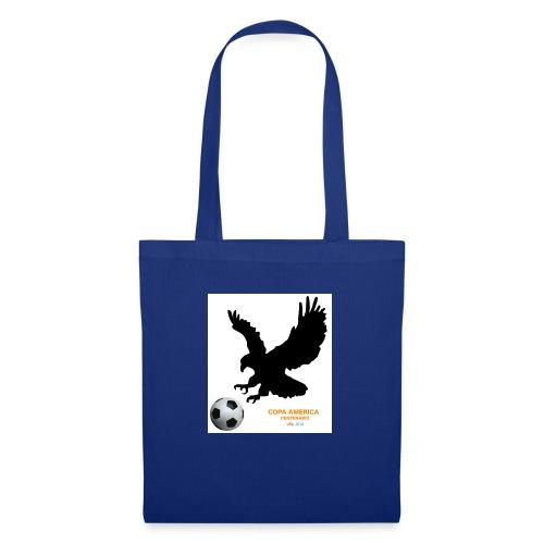 Aguila norteamericana con balón de fútbol - Bolsa de tela