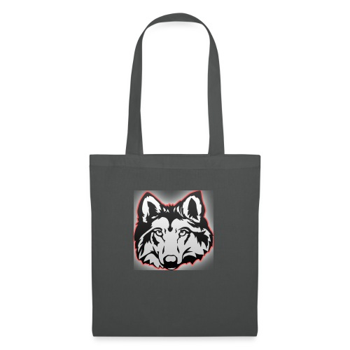 Wolfie (Red) - Tote Bag