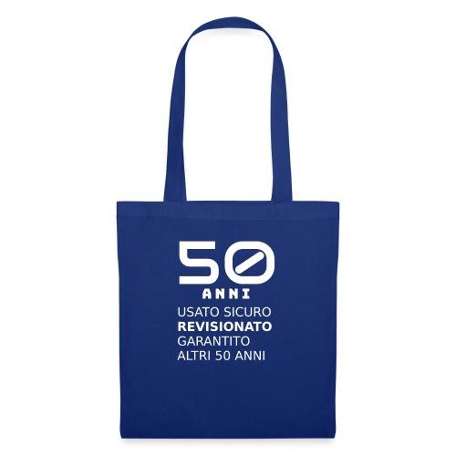 50 anni usato sicuro - Borsa di stoffa