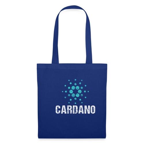 Cardano Ada Logo Cryptos Vintage - Stoffbeutel