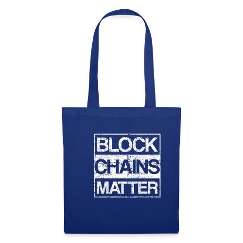 Blockchains Matter Cryptocurrency - Stoffbeutel