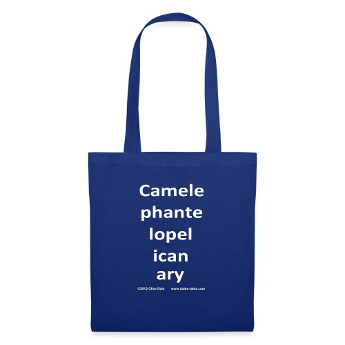 camelepha 5lines white - Tote Bag