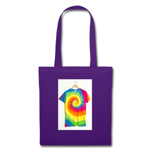tie die small merch - Tote Bag