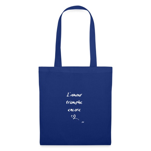 L'amour triomphe encore (blanc) - Tote Bag