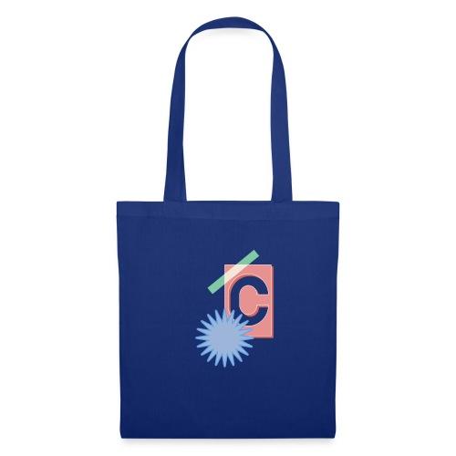 Monogram Letter C Graphic Design - Stoffbeutel
