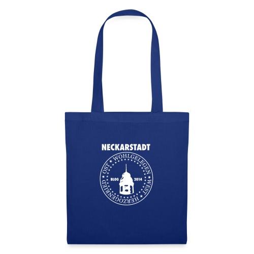 Neckarstadt – Blog seit 2014 (Logo hell) - Stoffbeutel