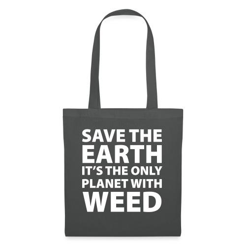 weed - sauve la terre - Sac en tissu
