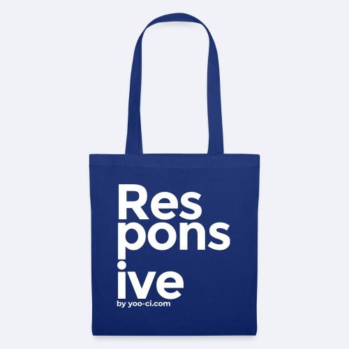 Responsive design - Tote Bag