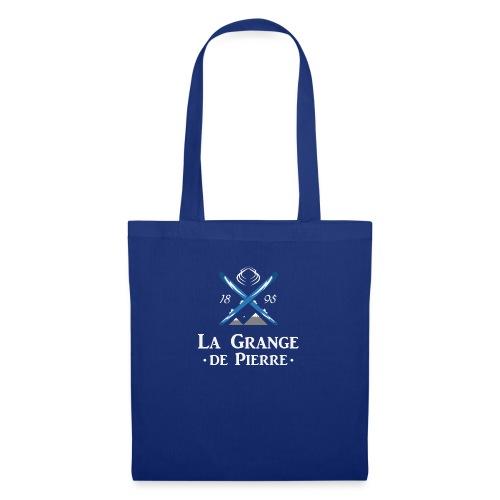 La Grange de Pierre Blue Cross Light - Tote Bag