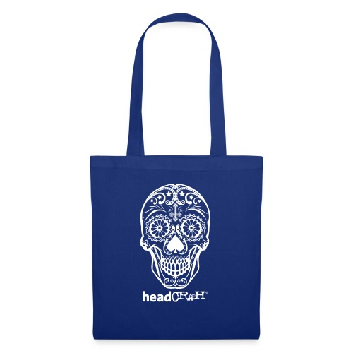 Skull & Logo white - Stoffbeutel