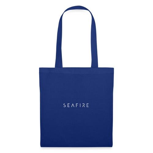 Seafire logo WHITE - Tas van stof