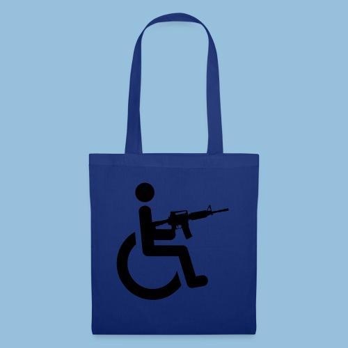 WheelchairM16 - Tas van stof