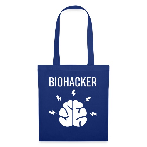 Biohacker Biohacking Geschenk Lifestyle Keto Shirt - Stoffbeutel