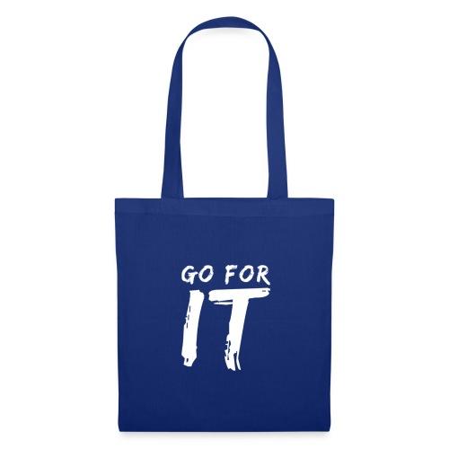 GO FOR IT - Stoffbeutel