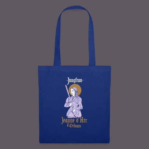Jungfrau Jeanne d Arc de Orleans - Stoffbeutel