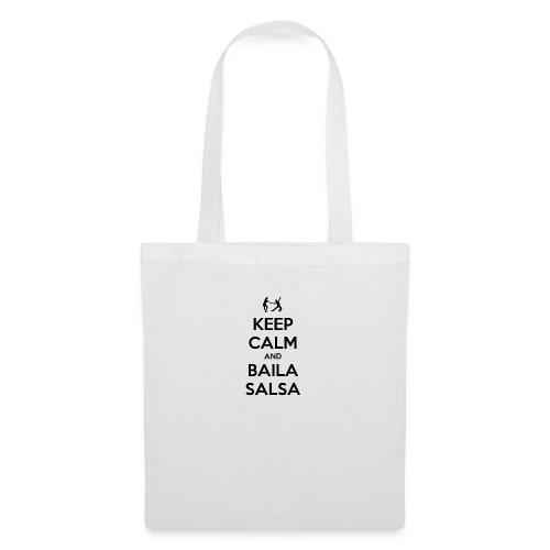 keep-calm-and-baila-salsa-41 - Borsa di stoffa
