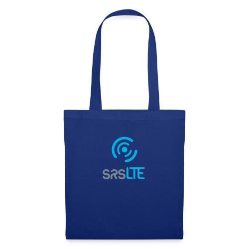 srsLTE grey/blue front vertical - Tote Bag