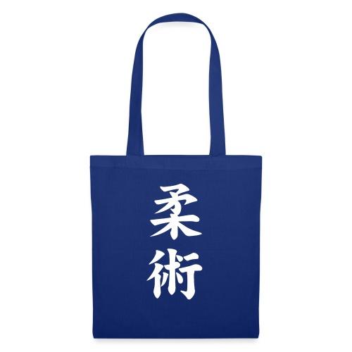 jiu-jitsu på japansk og logo i hvid - Mulepose