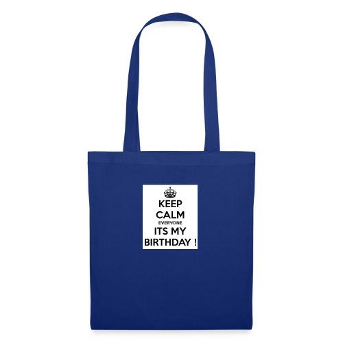 keep_calm_its_my_birthday - Tote Bag