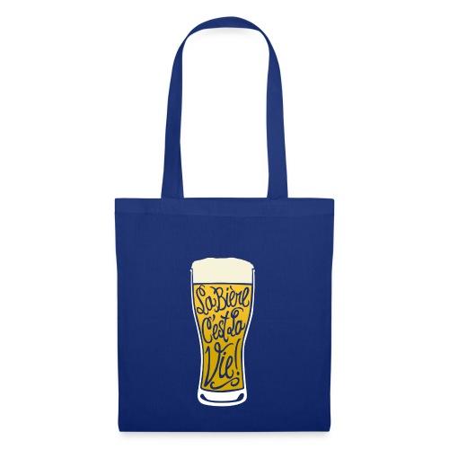 bière, la bière c'est la vie! - Sac en tissu