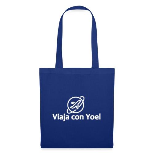 Viaja con Yoel White Logo - Bolsa de tela