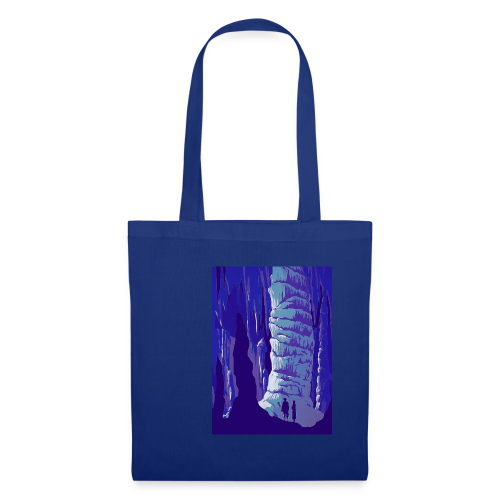 Fancy Grotto Vintage Travel Poster - Tote Bag