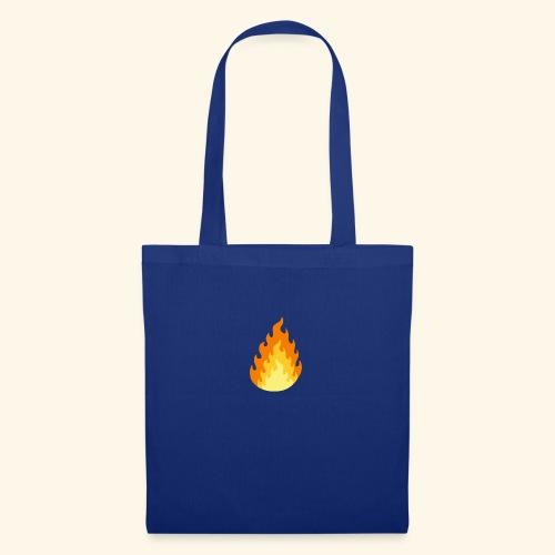 Logotipo Increíble de fuego - Bolsa de tela