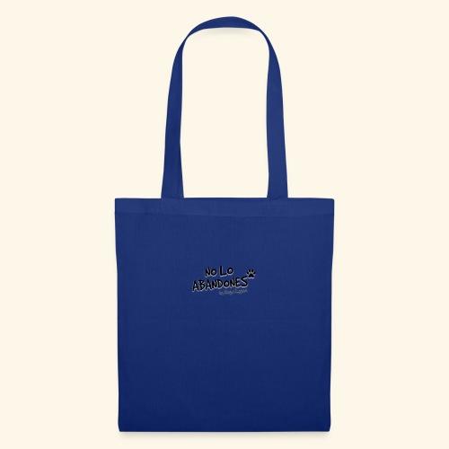 noloabandones negro - Bolsa de tela