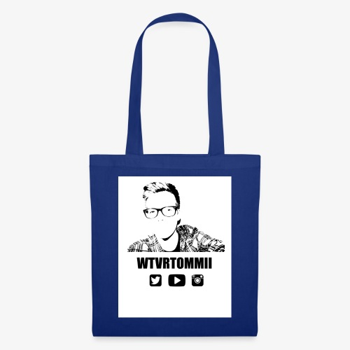 wtvrtommii logo - Tote Bag