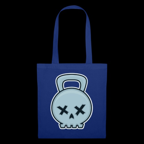 Cool kettlebell skull - Tote Bag