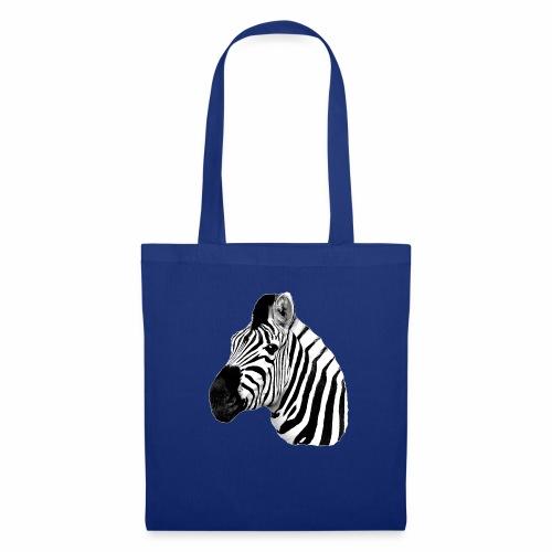 Cooles Zebra - Stoffbeutel
