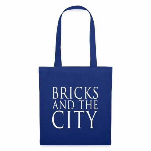 Bricks and the City (square) - Borsa di stoffa