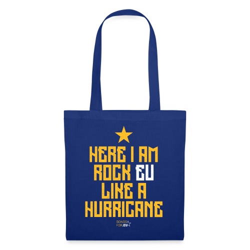 Rock EU like a Hurricane   SongsFor.EU - Tote Bag