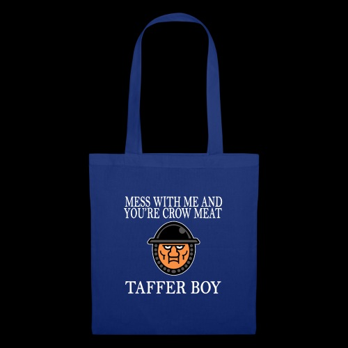 Taffer Boy (White) - Tote Bag
