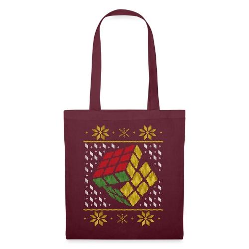 Rubik's Cube Ugly Christmas - Tote Bag