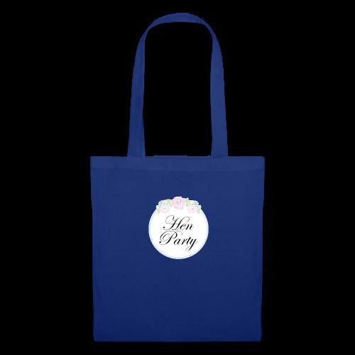 Floral Border Hen Party - Tote Bag