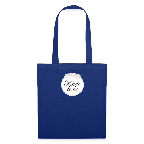 Floral Border Bride To Be - Tote Bag