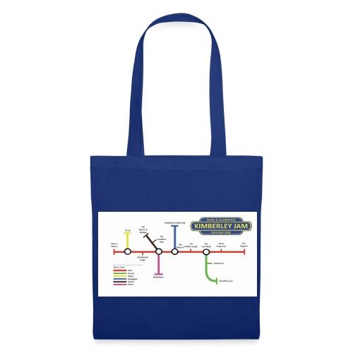 Kimberley Jam Map - Tote Bag