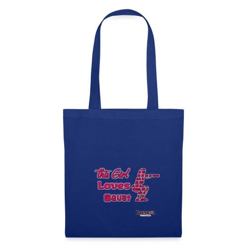Girld Love Squat - Tote Bag