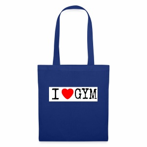 LOVE GYM - Borsa di stoffa