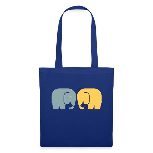 Vi två elefanter - Tygväska