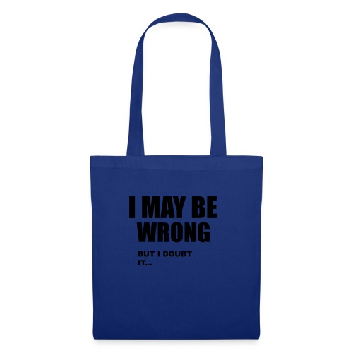 WRONG - Tote Bag