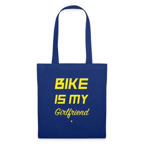 BIKE IS MY GIRLFRIEND - Stoffbeutel