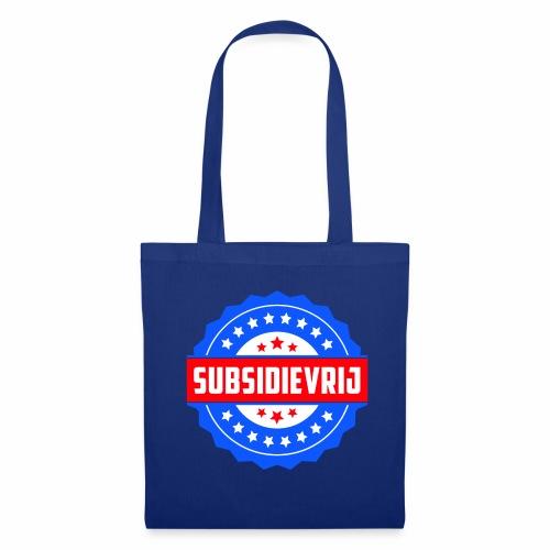 Subsidievrij - Tas van stof