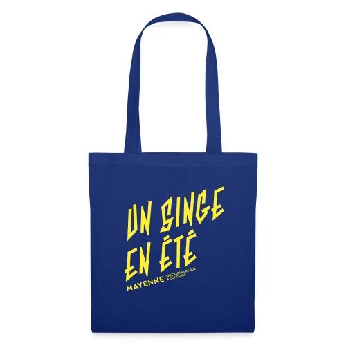 LOGO baseline jaune - Tote Bag