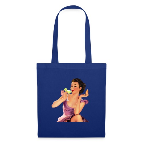 Donna Martini Pin Up - Borsa di stoffa
