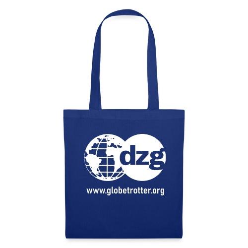 dzg logo Text white - Stoffbeutel
