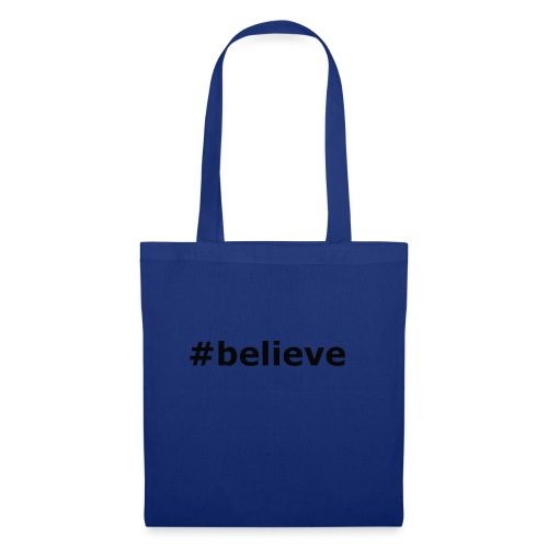 #believe - Stoffbeutel