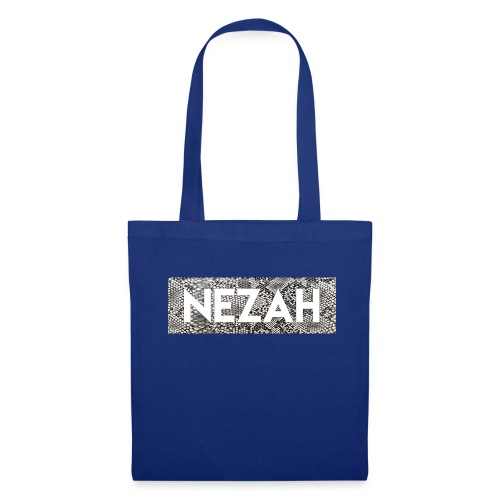 Nezah Snake Skin Box Logo - Tote Bag